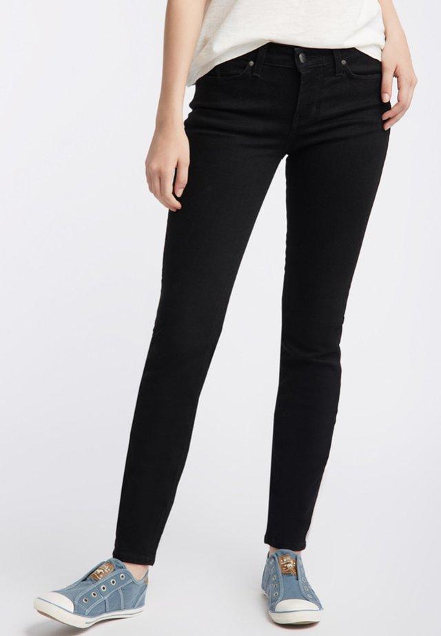 JASMIN - Slim fit jeans - black