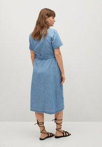 Violeta by Mango - CLAIRE - Denim dress - hellblau - 2