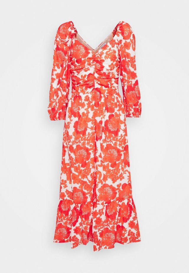 CORALIE  - Korte jurk - coral