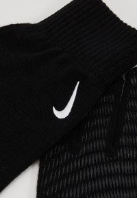 Nike Performance - TECH AND GRIP GLOVES - Handsker - black/white - 5