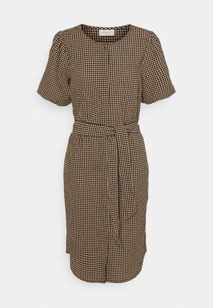 SANGO - Korte jurk - beige sand mix