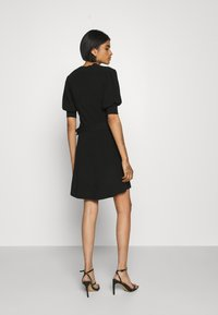 Forever New - LOUISA SHORT PUFF SLEEVE DRESS - Jumper dress - black - 2