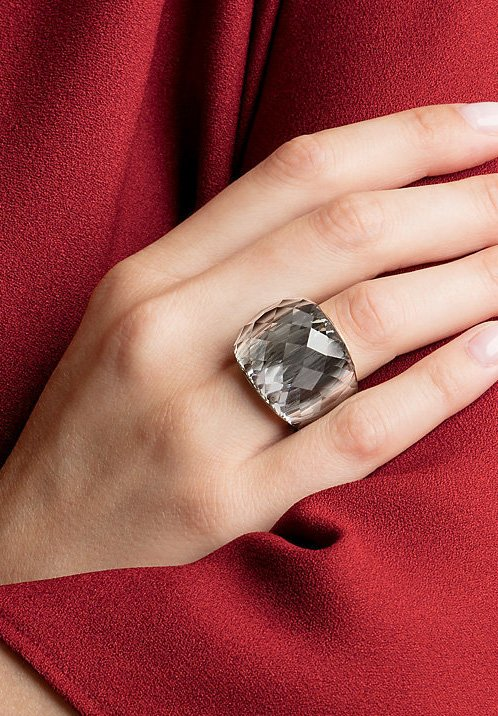 Swarovski - NIRVANA - Ring - grau