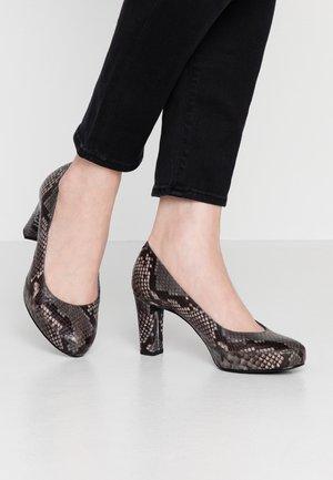 NUMAR CLASSIC - Platform heels - tempest