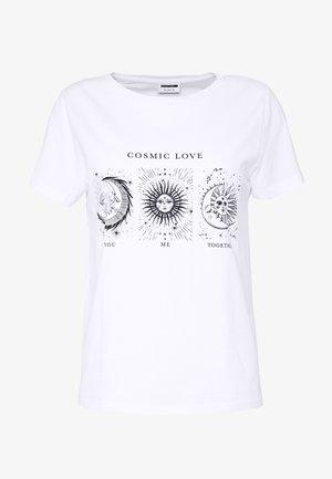 NMNATE SIGNS - Triko spotiskem - bright white