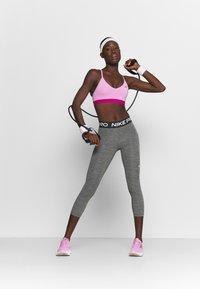 Nike Performance - CROP - Leggings - black/white - 1