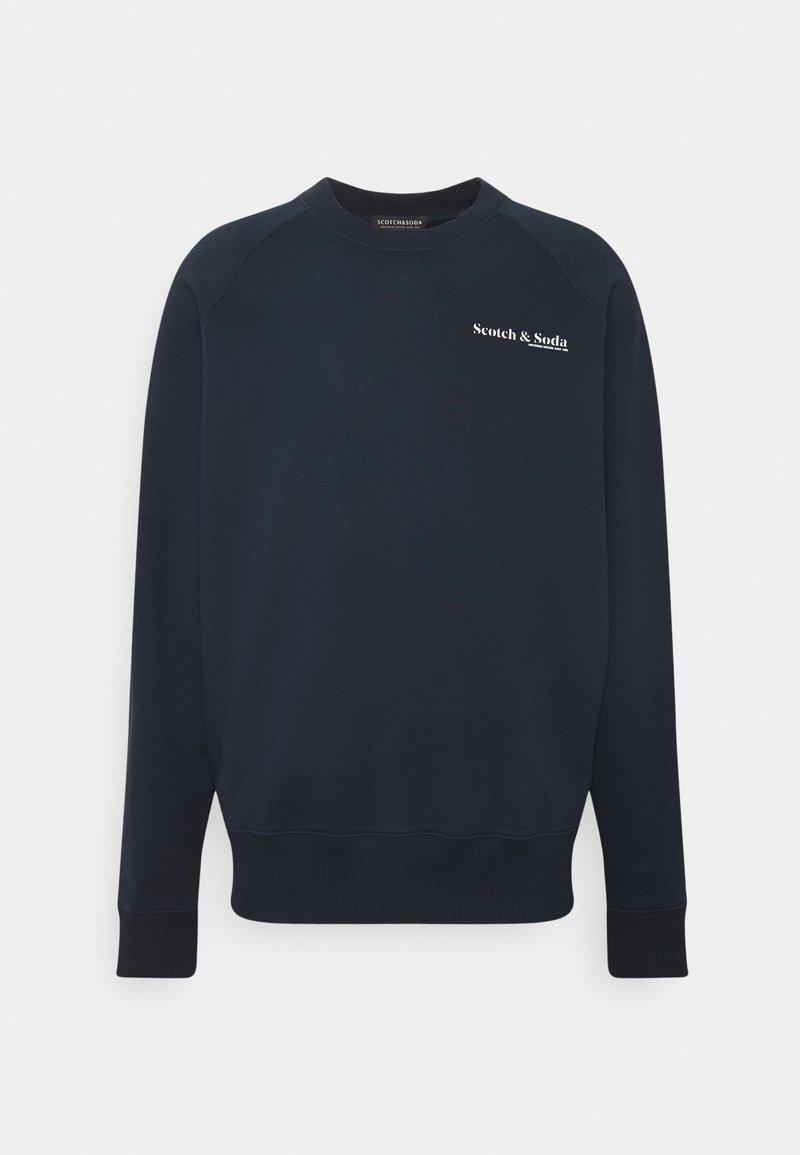 Scotch & Soda - CLASSIC CREWNECK  - Sweatshirt - night