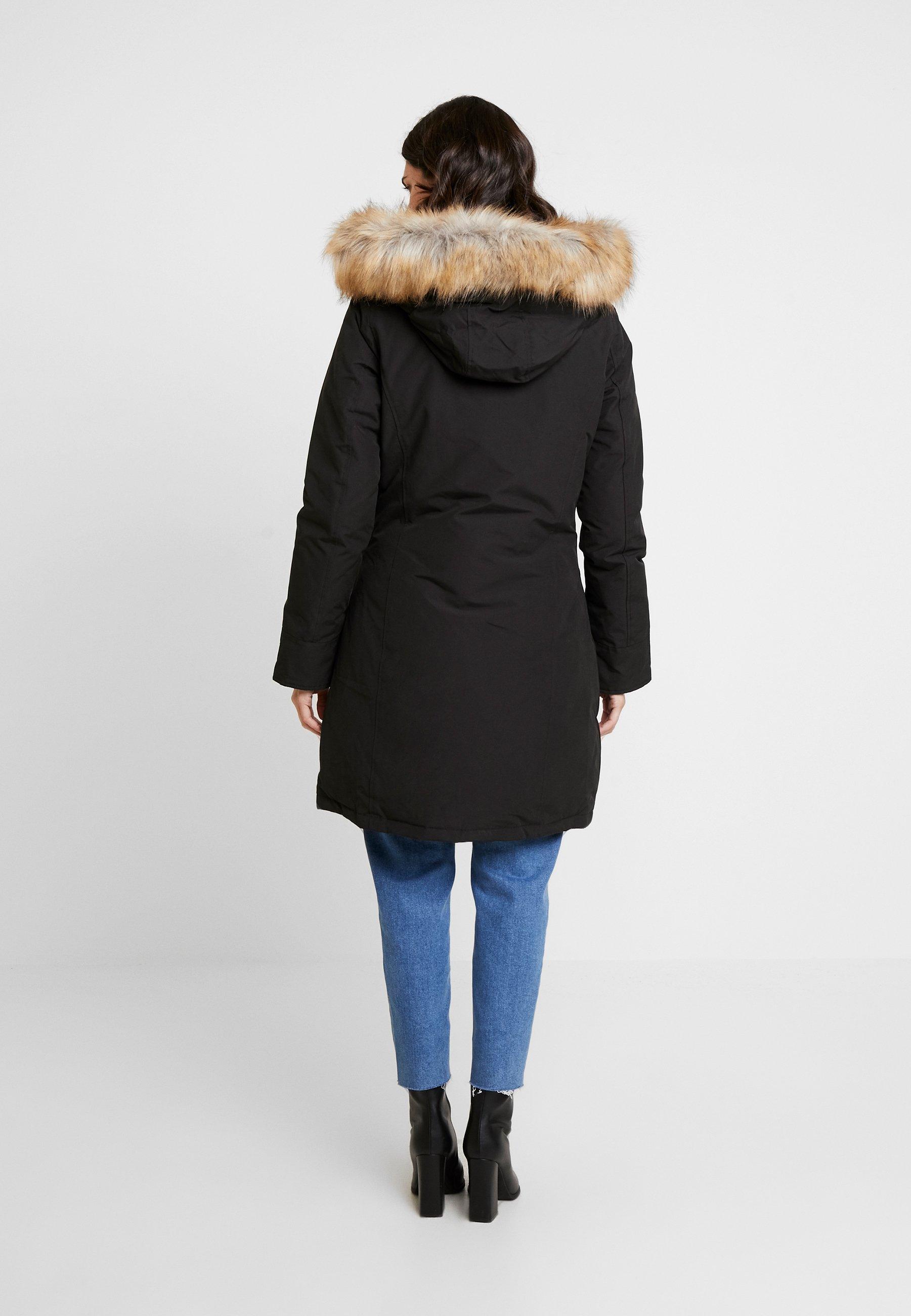 Canadian Classics Fundy Bay Long Fake Fur Piumino Black Nero Zalando It