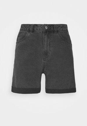 VMNINETEEN MIX - Szorty jeansowe - medium grey denim
