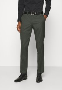 Selected Homme - SLHSLIM MYLOLOGAN SUIT - Traje - rifle green - 4