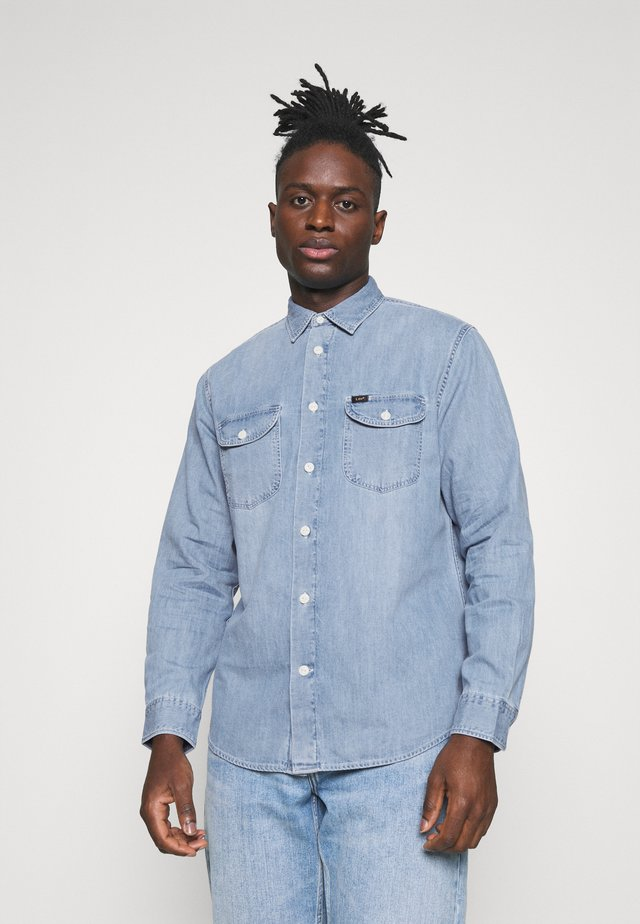 WORKER - Camicia - frost blue