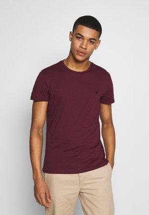 T-Shirt basic - bordeaux