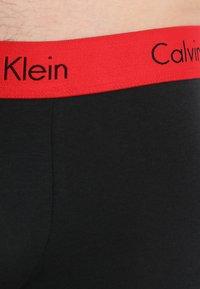 Calvin Klein Underwear - TRUNK 2 PACK - Bokserit - black - 4