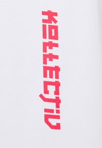 Common Kollectiv - MANGA TEE UNISEX - Print T-shirt - white - 2
