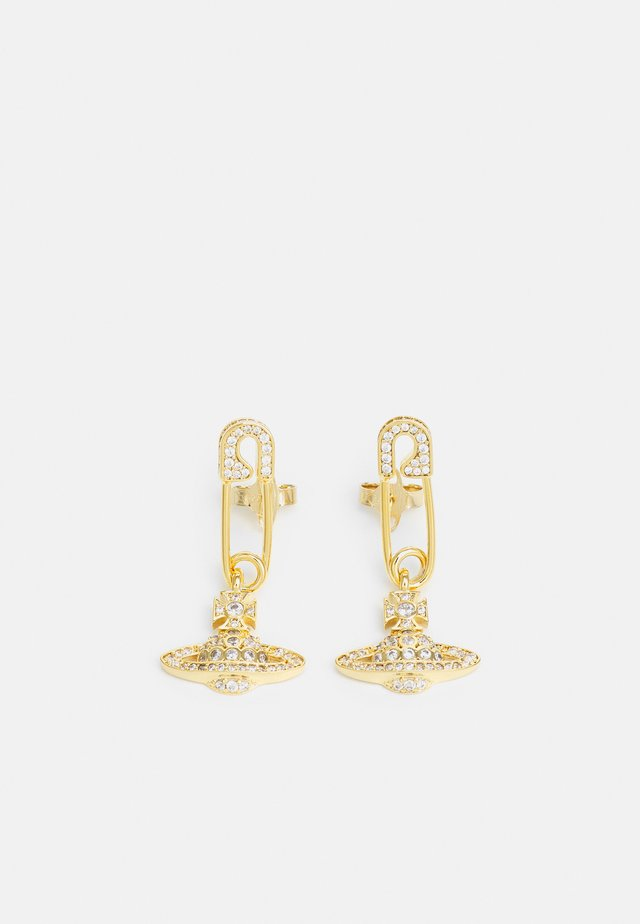 LUCRECE EARRINGS - Boucles d'oreilles - gold-coloured