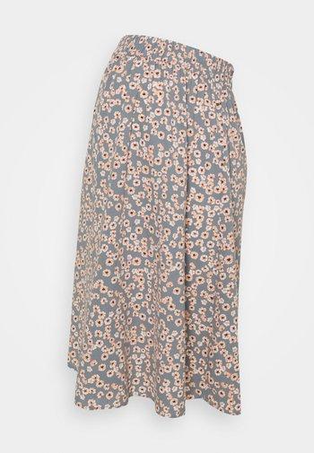 PCMCINDY MIDI SKIRT - Pencil skirt - blue