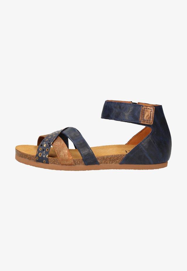 Sandalen - indigo/kombi