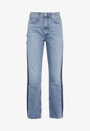PINCH WAIST - Jean boyfriend - queue