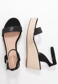 Anna Field - Espadrillas - black - 3