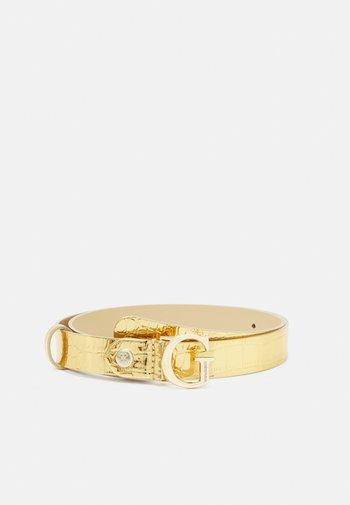 CORILY ADJUSTABLE PANT BELT - Belt - gold