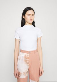 Monki - T-shirt basique - white - 0