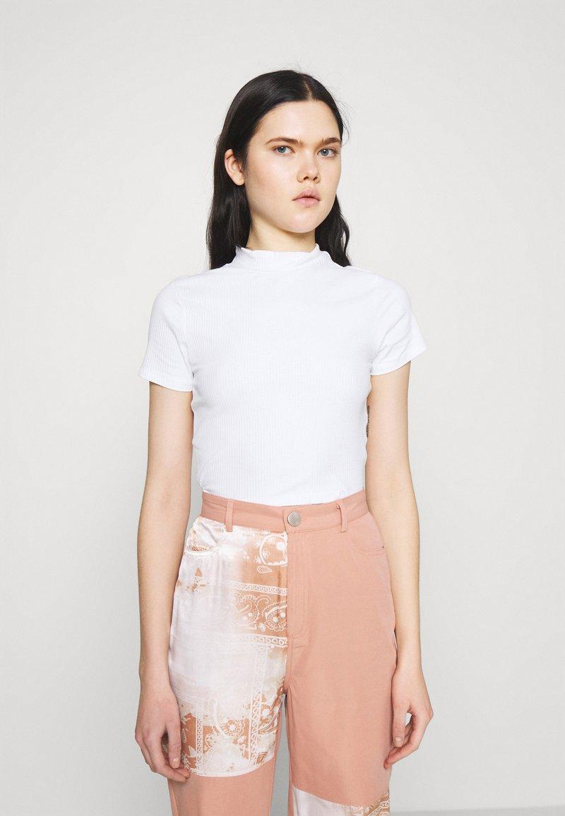 Monki - T-shirt basique - white