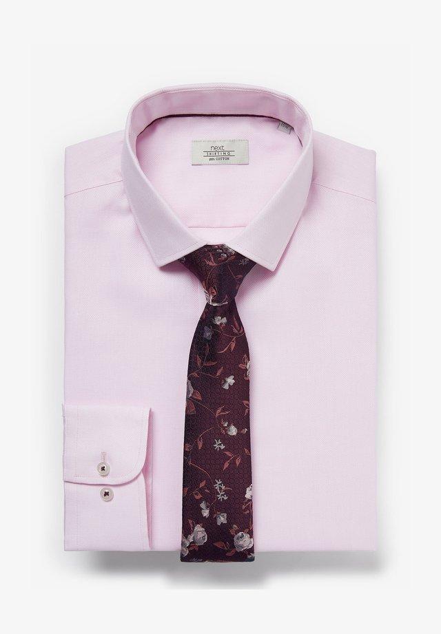 SET - Formální košile - pink