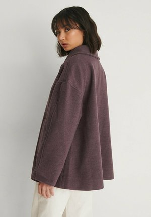Short coat - dark purple
