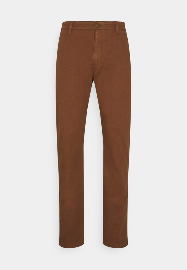 XX CHINO STD II - Trousers - toffee