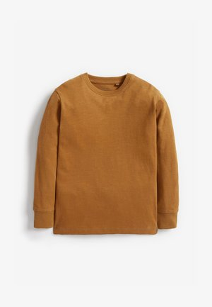 Langærmede T-shirts - brown