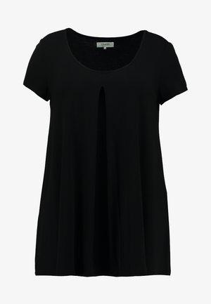 T-shirt con stampa - black/black