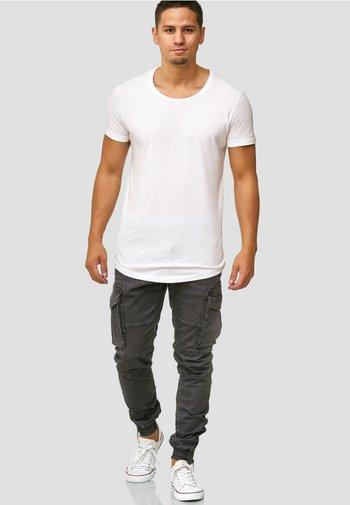 ALEX - Pantaloni cargo - dark grey