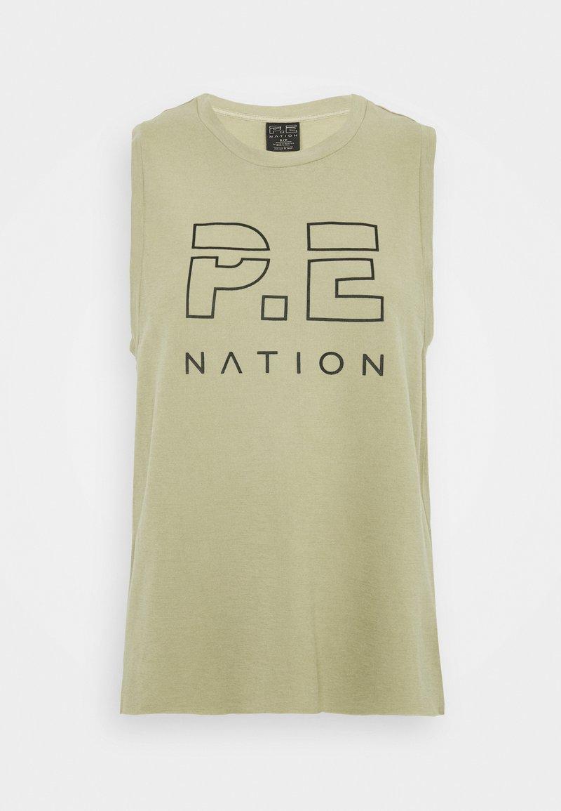 P.E Nation - HIGH TWIST SHUFFLE TANK - Top - mottled