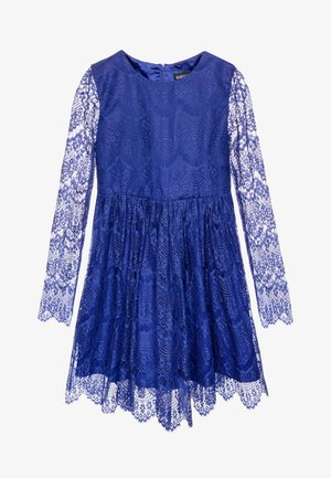 GERTRUDE DRESS - Cocktailjurk - amparo blue