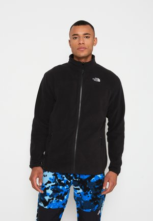 GLACIER FULL ZIP NEW - Fleecejacka - black