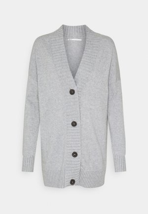 ONLSANDY BUTTON CARDIGAN - Chaqueta de punto - light grey melange
