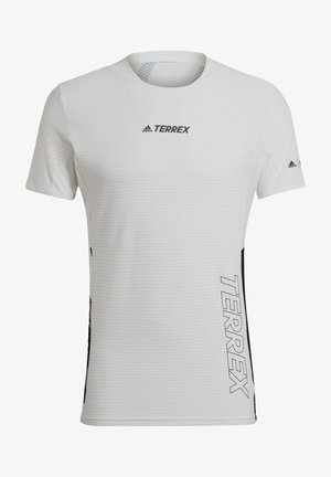 TERREX PARLEY AGRAVIC TRAIL RUNNING PRO T-SHIRT - Print T-shirt - white