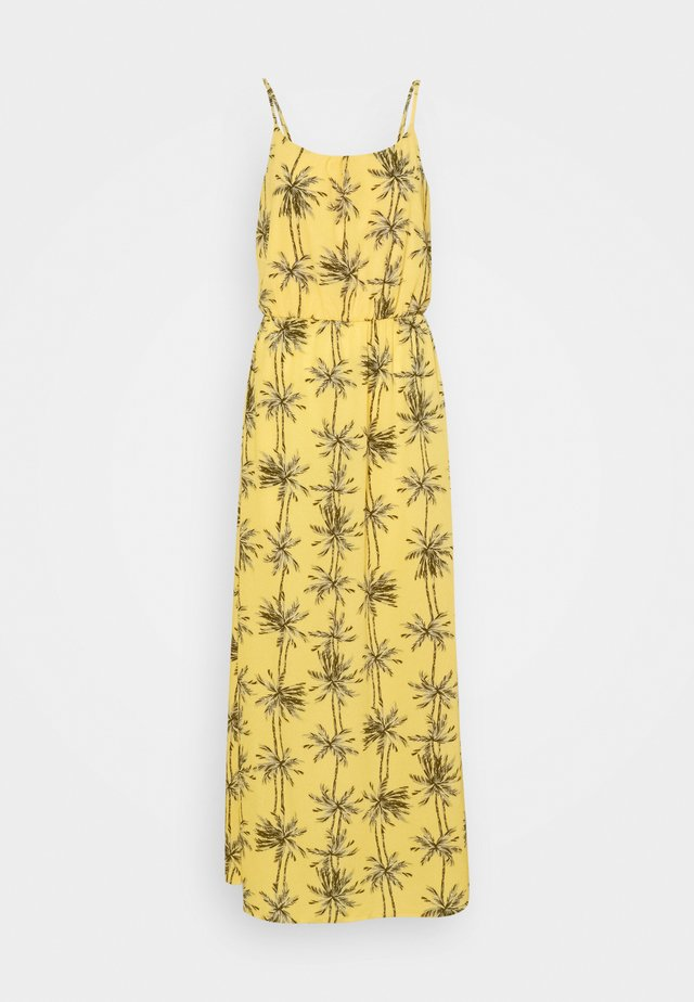 ONLNOVA LUX STRAP MAXI DRESS - Vestido largo - misted yellow