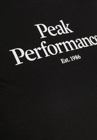 Peak Performance - T-shirts print - black - 3