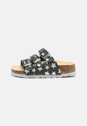 FUSSBETTPANTOFFEL - Domácí obuv - grau kombi