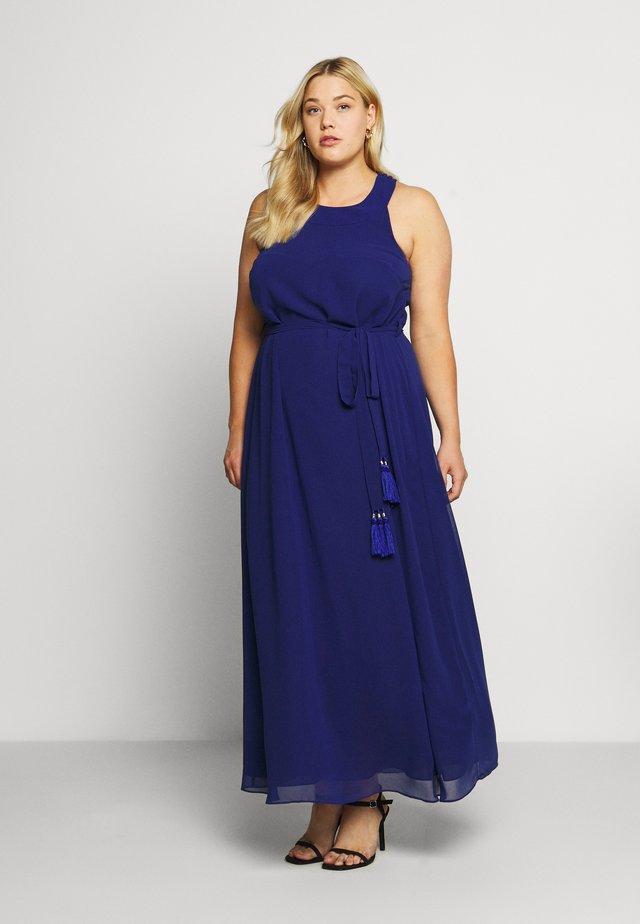 Společenské šaty - azure