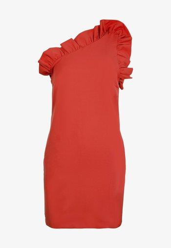 Vestido de tubo - red