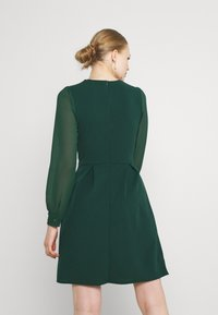 WAL G. - BELLA SLEEVE SKATER DRESS - Cocktail dress / Party dress - emerald green - 2