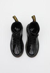 Dr. Martens - 1460 GLITTER - Šněrovací kotníkové boty - black - 3