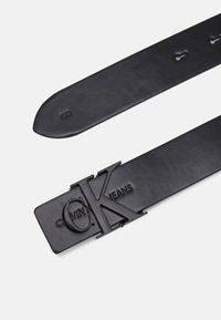 Calvin Klein Jeans - LOGO - Pásek - black - 1