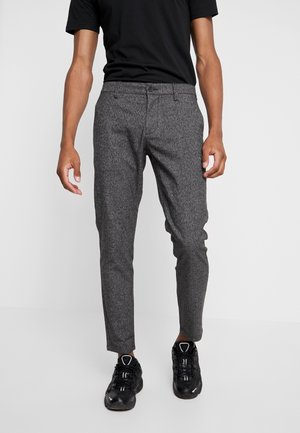 ONSMARK MELANGE  - Trousers - medium grey melange