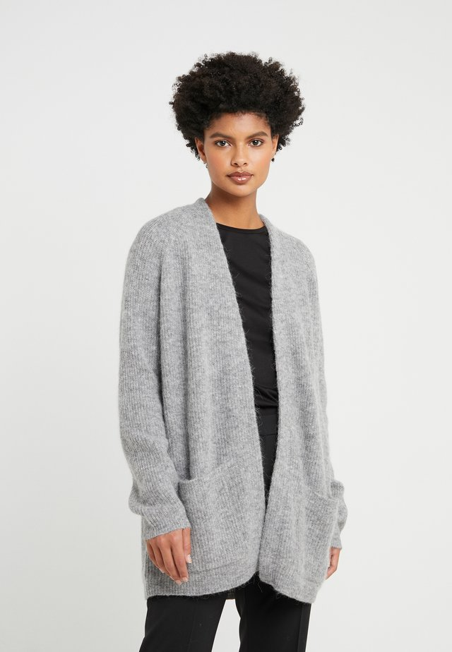 BELINTA - Strickjacke - grey melange
