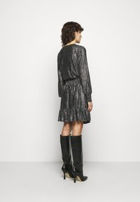 MICHAEL Michael Kors - SPACED GALAXY  - Cocktail dress / Party dress - black / silver - 2