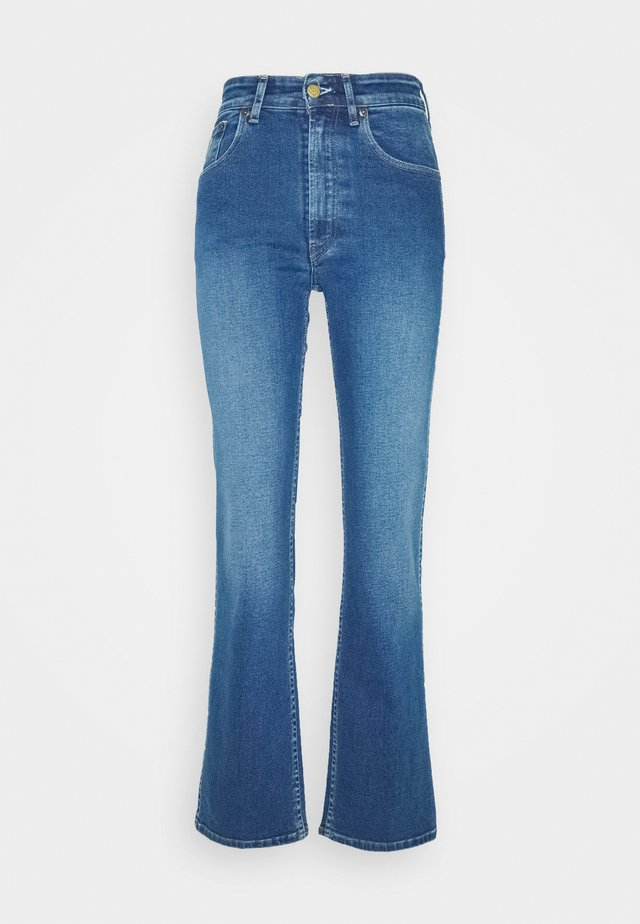 RIVER - Straight leg jeans - stone