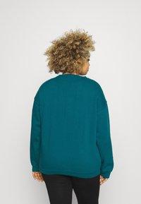Missguided Plus - WASHED BASIC  - Sweatshirt - blue - 2